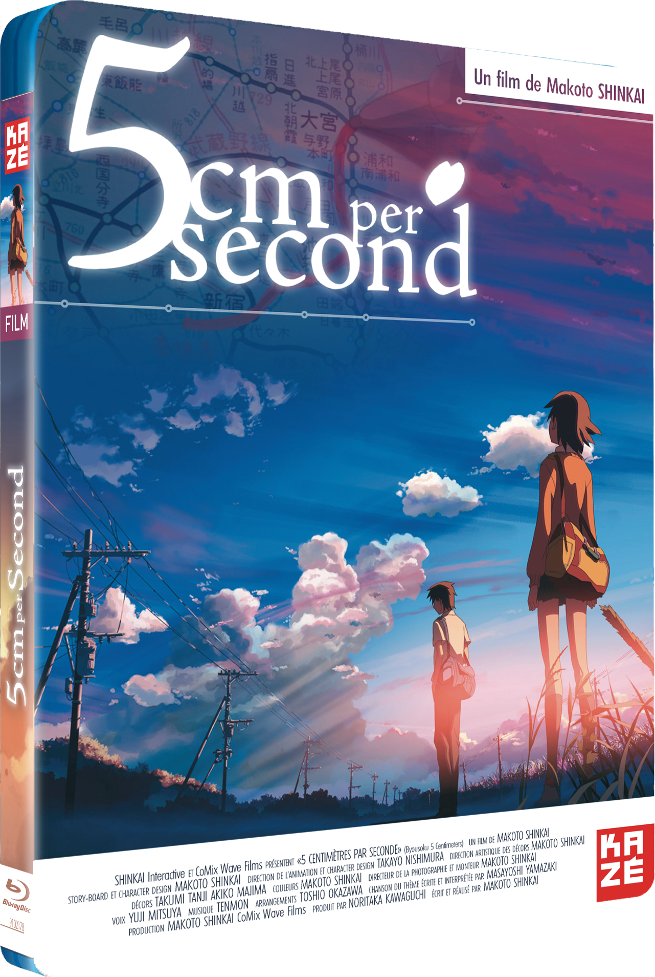 5 centimètres par seconde [Multi-Langues][Bluray 1080p]