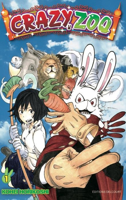 Crazy Zoo Crazy-zoo-manga-volume-1-simple-206151