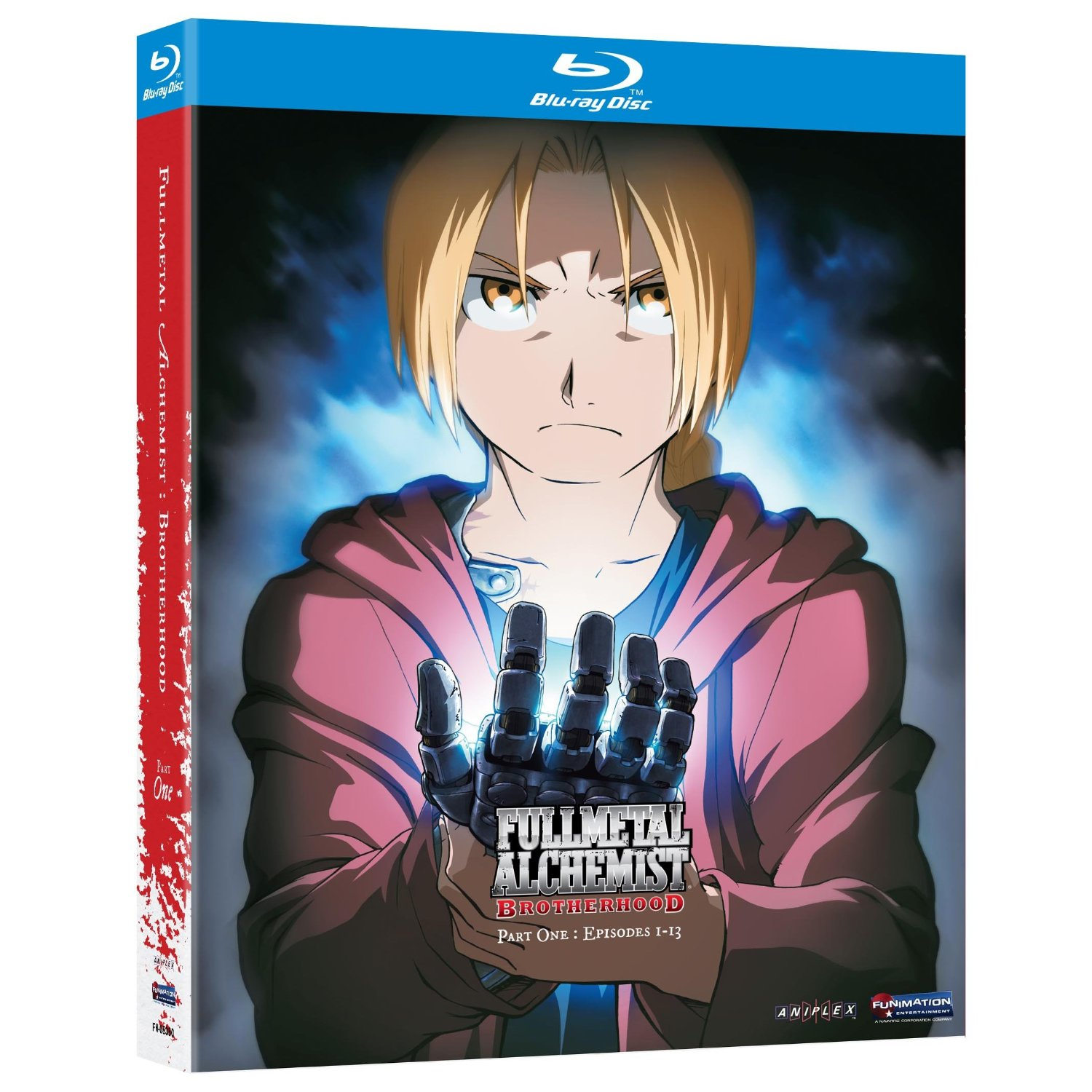 Fullmetal Alchemist Brotherhood 1 édition Blu-ray