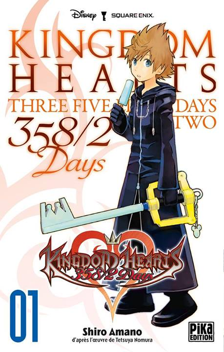 [MANGA] Kingdom Hearts 358/2 Days Kingdom-hearts-358-2-days-manga-volume-1-simple-75930