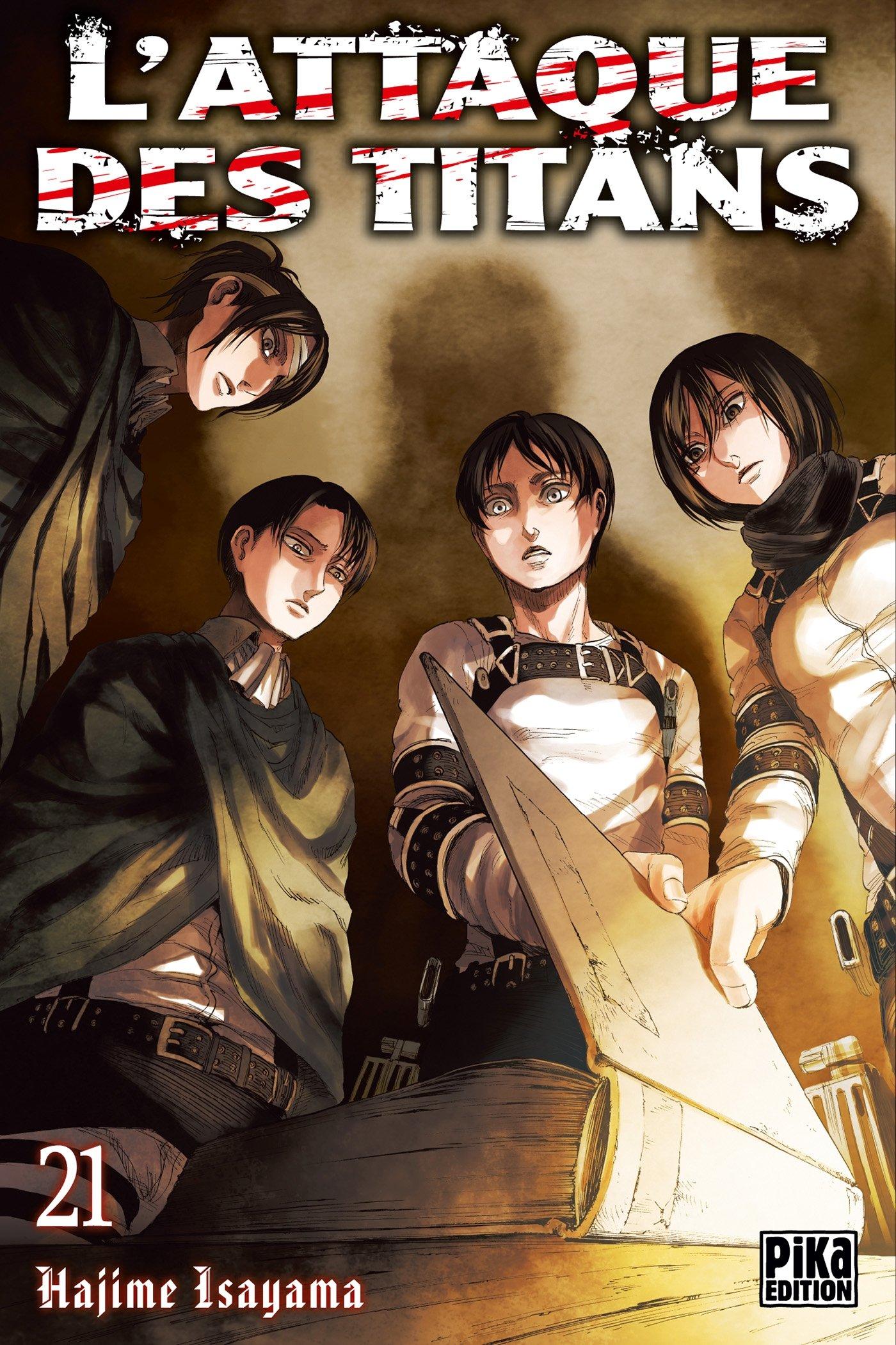 L'Attaque des Titans 21 édition Simple - Pika - Manga Sanctuary