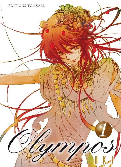 Quelles sont vos couvertures préférées ? Olympos-manga-volume-1-simple-55221
