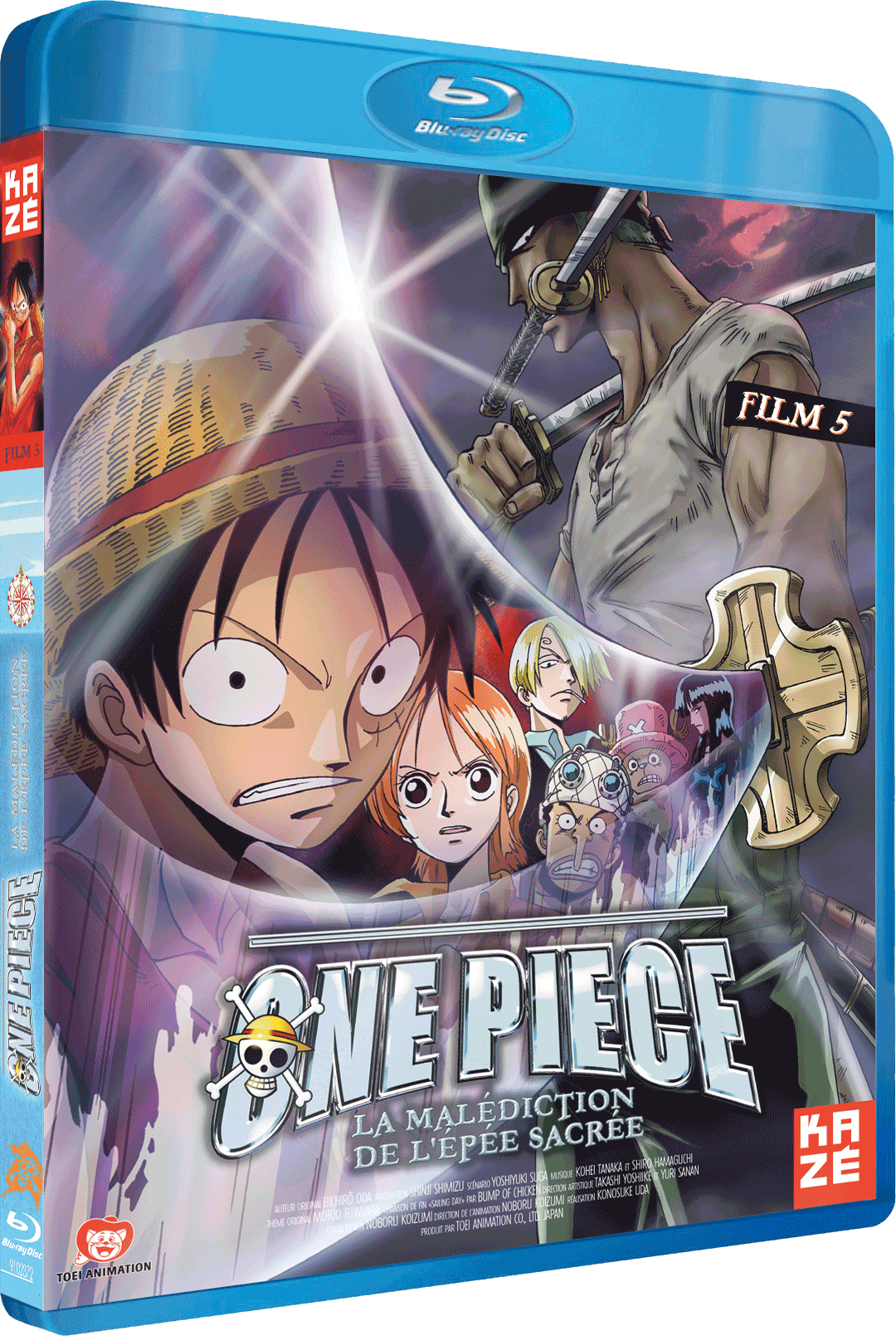One Piece - Film 5 : La malédiction de l'épée sacrée [FRENCH][Bluray 720p]