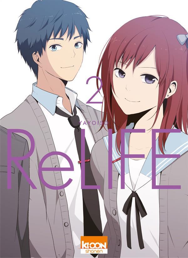[MANGA/ANIME] ReLIFE Relife-manga-volume-2-simple-260852