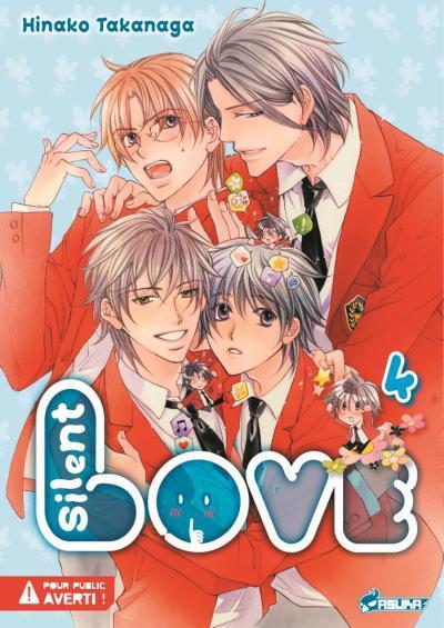 Silent Love - Hinako Takanaga Silent-love-manga-volume-4-simple-72251