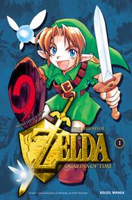 Soleil Zelda-ocarina-of-time-manga-volume-1-simple-22848