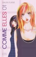 Delcourt (anciennement Akata/Delcourt) - Page 3 Comme-elles-manga-volume-1-simple-11523