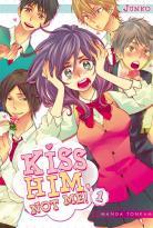 Manga - Kiss him, not me