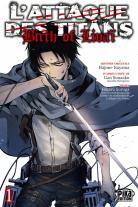 Manga - L'Attaque des Titans : Birth of Livaï