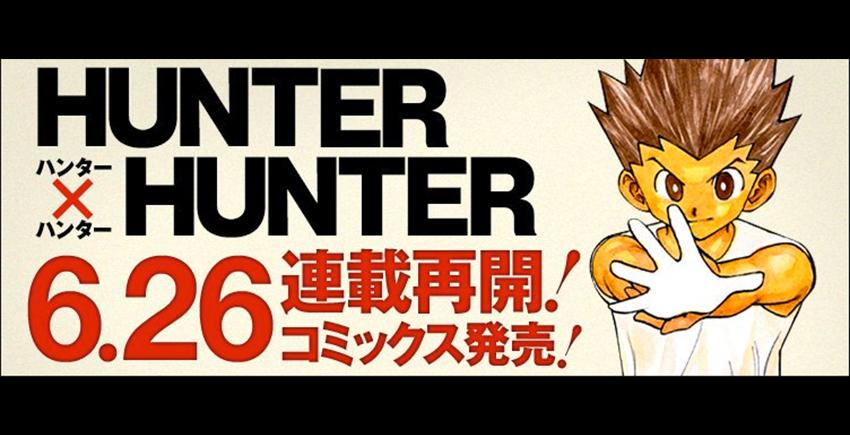 Hunter x hunter reprendra en juin for En hunter x hunter