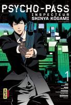 Manga - Psycho-Pass, Inspecteur Shinya Kôgami