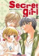 Vos acquisitions Manga/Animes/Goodies du mois (aout) - Page 2 Secret-girl-manga-volume-2-simple-13478