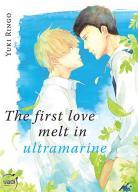 Manga - The first love melt in ultramarine