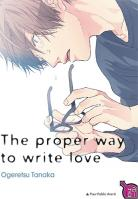 Manga - The proper way to write love